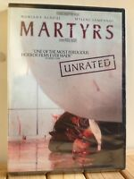 Martyrs Unrated (DVD, 2009) RARE / FACTORY SEALED / Region 1