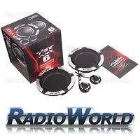 "Vibe Slick 6 Comp Car Audio Component 2 Way Speakers Set 6.5"" 270W 165mm"