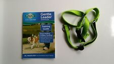 NEW DOG Gentle Leader GREEN APPLE, Large, Nylon, Premier