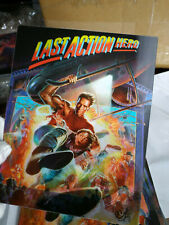LAST ACTION HERO  - Lenticular 3D Flip Magnet Cover FOR bluray steelbook