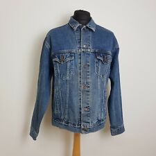 Levis Mens Denim Jacket Size Large Mid Blue Classic Relaxed Trucker Style 70507