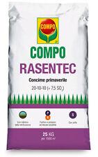 COMPO RASENTEC – PRIMAVERILE da 25 Kg -  CONCIME TAPPETI ERBOSI