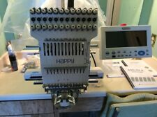 Happy embroidery machine hcs 1201-30 in excellent condition