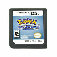 Pokemon: Soul Silver SoulSilve Version (Nintendo DS, 3DS) Game Card Cartridge