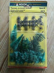 Noch 4273 Z Tannen Fir Trees (Pack of 25)