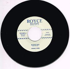 JIMMIE PIPER - BONFIRE / I MET A GIRL (Repro) (Killer 1950s ROCKABILLY Bopper)