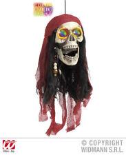 SINGOLO Adulto Nero Caraibi Pirata Teschio Benda Sull/'occhio Festa Di Halloween Costume di Scena