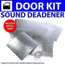 Heat & Sound Deadener Jeep Liberty 2002 - 2012 2 Door Kit + Seam Tape 3420Cm2