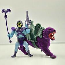 He-Man Skeletor Panther Vintage 1981 Soft Head Battle Mattel Action Figure MOTU