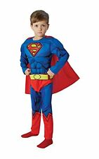 Rubie's IT610781-L - Superman Deluxe Costume, con Muscoli, Taglia L (p9H)