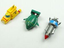 "THUNDERBIRDS  Plastic Friction vehicle ship toy set 3""  Collectables"