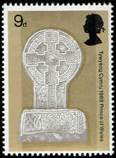 Scott # 598 - 1969 - ' Celtic Cross ' Phosphor Lined Paper