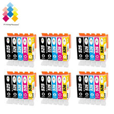 30 Ink Cartridges For Canon Pixma iP4800 iX6550 MG5300 MG5320 MG6220 MG6250