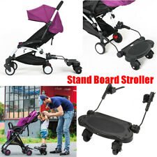 Rider Stand Sit Toddler Tandem Seat Board Connector for Stroller Pram