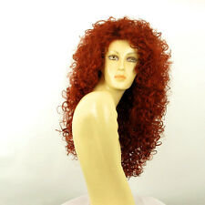 length wig for women curly intense coppery ref: LIONESS 350  PERUK