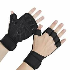 Weight Lifting Gloves ,Workout Gloves Ventilated Full Palm Protection wit Size M
