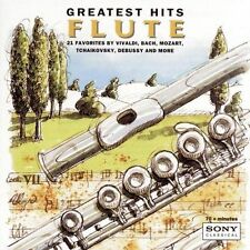 Flute: Greatest Hits [21 Tracks] (CD, Dec-1994, Sony Classical) BRAND NEW