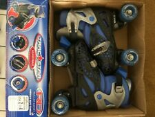 Adjustable Boys Size 2-4 Rollerblades Blue