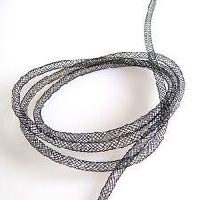 Calza Tubolare in rete plastica Nera - 5 mm x 2 metri