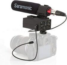 Saramonic MixMic Audio Adapter and Microphone Kit - Black