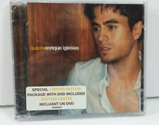 Quizas Enrique Iglesias Cd New and Sealed with Limited Edition DVD Spanish