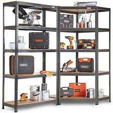 Heavy Duty Industrial 5 Tier Corner Racking System Garage Metal Shelving Unit
