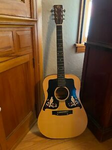 kay dove acoustic guitar