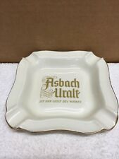 Vintage Thomas Advertising Asbach Uralt Porcelain Ashtray