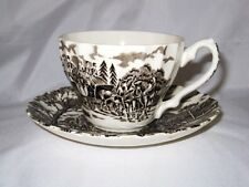 Myott ROYAL MAIL Brown, Cup & Saucer Set