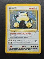 11/64 | Snorlax HOLO | Jungle | Pokemon Card | Played