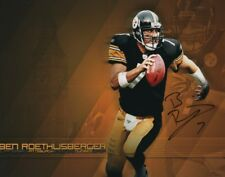BEN ROETHLISBERGER signed autographed NFL PITTSBURGH STEELERS photo