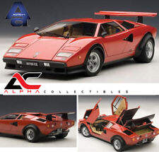 AUTOART 74651 1:18 LAMBORGHINI COUNTACH WALTER WOLF EDITION RED SUPERCAR