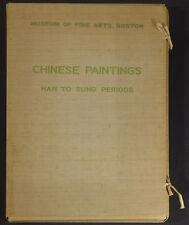 Chinese Paintings Han to Sung Periods 1938 Boston MFA folio 2nd ed. Tomita