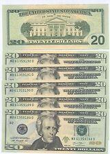 20 DOLLARI/TWENTY DOLLARS - U.S. FDS/UNC - PREZZO STRACCIATO...!!!!