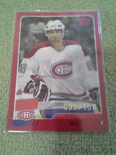 2003-04 Topps Traded Chris Higgins Rookie RC Red #d/100 Montreal Canadiens