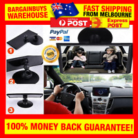 Easy View Safety Mirror Kids Watch Car Seat Baby Chair Capsule w/ Suction Cup