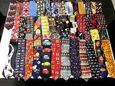 Wholesale Lots (50 PCS.) Mens Novelty Ties