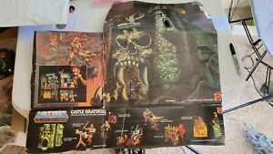Vintage MOTU He-Man Castle Grayskull Original damaged Box Masters of Universe