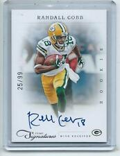 2011 Prime Signatures FB #252 Randall Cobb Packers AUTOGRAPH ROOKIE CARD #/99 !!