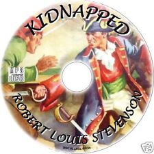 KIDNAPPED, ROBERT LOUIS STEVENSON MP3 CD AUDIOBOOK CLASSIC ENGLISH NOVEL NEW