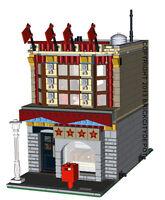 Lego Custom Modular Building - Comedy Club -INSTRUCTIONS ONLY! 10211 Alternative