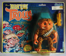 Rare Vintage 1993 Original Battle Trolls General Troll Hasbro New Sealed !