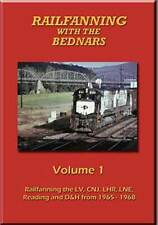 Railfanning with the Bednars Vol 1 DVD NEW Lehigh Valley CNJ Reading LHR D&H LNE
