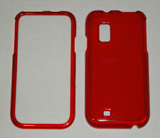 Samsung Fascinate i500 Crystal Hard Plastic Case RED