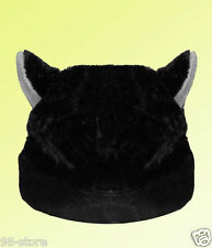Lot of 2pcs Halloween CAT ANIME KITTY GOTH RAVE COSPLAY CAP HAT For Adults