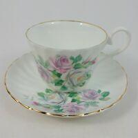 Royal Stuart Bone China Porcelain Coffee Tea Cup & Saucer Made In England