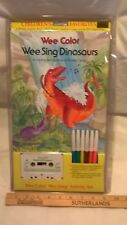 Wee Color, Wee Sing Coloring Activity Packages: Dinosaurs by Pamela Conn Beall a