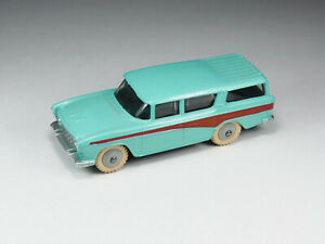 DINKY TOYS ENGLAND - 173 - Nash Rambler - Blue and red with grey hubs - 1/43