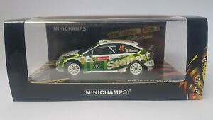 Minichamps Ford Focus RS WRC Rossi Valentino #46 Wales Rally GB RAC 2008 1/43