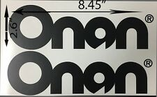 Generator Logo Decal Onan 8.45'' buy 1 get 2